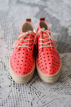 Leopard and Lavender: DIY Sneakers with Coconuts by Matisse