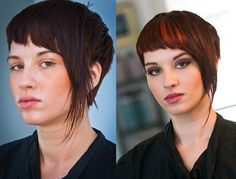 Fashion Color Before/After #soma #complete #colour