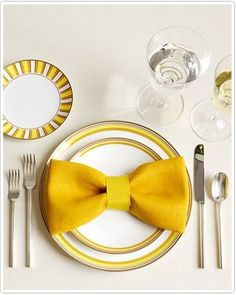 Bow Napkin Decoration