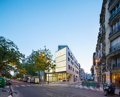 Gallery of Patronage Laique & Social Housing / LAPS Architecture + MAB…