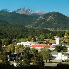 Estes Park, CO. Gateway to Rocky Mountain National Park. Best place for vacation, summer job for college students. Will always be one of my favorite places ever.