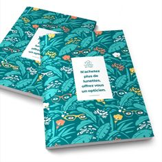 #cadeauentreprise  #papeterie #cahier #carnet #cahierpersonnalise #lunettesaulogis #surmesure #graphicdesign #madeinfrance #lesjoliscahiers Cahier A5, Graphic, Floral Tie, Small Notebook, Paper Mill