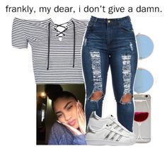 """"""""""" by xtiairax ❤ liked on Polyvore featuring Topshop, Sunday Somewhere, adidas Originals and Franklin"""