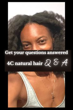 Click here for the answer to your most burning question about 4C hair and to take care of it! Learn what products to look for, how to maintain and grow it down your back! licensed cosmetologist here! #4c #natural #hair #grow #howto #regimen #black #type4 #routine #tips #guide #questions How To Grow Natural Hair, 4c Natural Hair, Going Natural, Natural Hair Journey, Natural Hair Styles, Hair Cleanse, Hair Again, 4c Hair