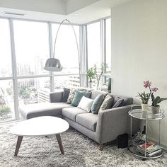 Small living room furniture layout square feet New ideas Condo Living Room, Living Room Furniture Layout, Small Living Rooms, Living Room Grey, Living Room Decor, Furniture Design, Rustic Furniture, Apartment Living, Apartment Sofa