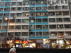 Hong Kong old buildings