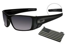 a9317e0582c Oakley Steel Flag SI Fuel Cell Matte Black With Black Iridium Lens Glasses