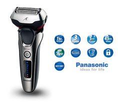 ¡Chollo! Afeitadora Panasonic ES-LT4N-S803 de 3 cuchillas con cabezal 3D Multi-Flex por 95 euros.