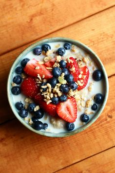 Breakfast: Oatmeal (made with quick oats, water... | Garden of Vegan