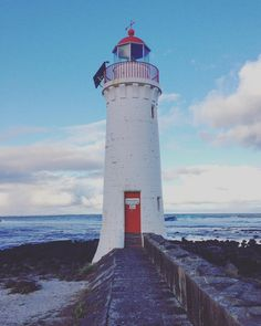 That time when Port Fairy had a disappointingly low number of fairies #lighthouse #portfairy #australia #greatoceanroad #travel by iona.fletcher http://ift.tt/1UokfWI