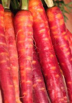 Organic Carrot Atomic Red Heirloom Vegetable Seeds. $2.35, via Etsy.