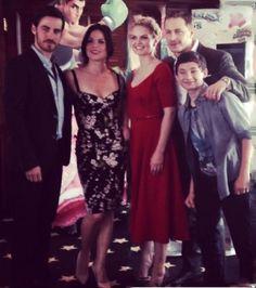 OUAT Comic Con - Lana Parrilla - Josh Dallas - Jennifer Morrison - Colin O'donoghue - Jared Gilmore