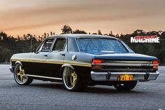 John Saad's street-driven Ford XY Falcon combines elite-level build quality with a Sonny's mountain motor! Australian Muscle Cars, Aussie Muscle Cars, Chevy Motors, Ford Falcon, Japanese Cars, Ford Gt, Amazing Cars, Cars And Motorcycles, Vintage Cars