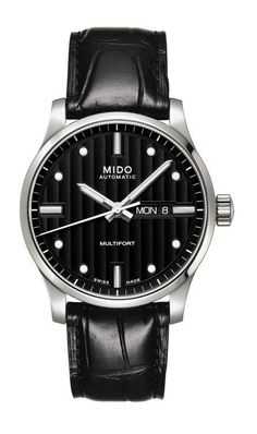Multifort Gent Automatic Data Swiss Made Simple Watches, Cool Watches, Leather, Accessories, Black, Products, Image Search, Watch, Watches