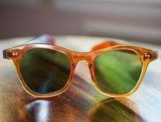 Vintage Horn Rimmed Sunglasses 1950s 1960s by JustheGoodStuff, $55.00
