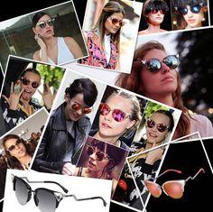 Fendi Iridia é sucesso entre as celebridades. E não é pra menos que o super lançamento da grife ganhou o coração das fashionistas: gatinho, com strass no frontal e com cores incríveis! #oculos #de #sol #colorido #sunglasses #eyewear #luxo #oticas #wanny #moda #solar