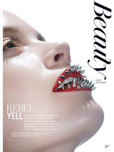 Fashion, September 2013 – Rebel Yell Makeup by Simone Otis Photography by Natasha V. Model – Cassidy, Elmer Olsen Model Management (Please Keep Credits Intact)
