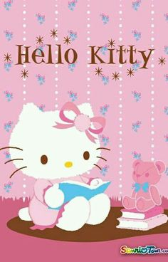 Image about wallpaper in Hello kitty by ป่านแก้ว Sanrio Hello Kitty, Hello Kitty Art, Hello Kitty Items, Photo Hello Kitty, Hello Kitty Pictures, Kitty Images, Little Twin Stars, Hello Kitty Imagenes, Miss Kitty