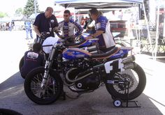 Stu's Shots R Us: AMA Flat Track: Cycle News.com's Larry Lawrence Talks With 2012 AMA Grand National Champion Jared Mees