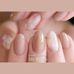 Asian Nails, Korean Nails, Shellac Nails, Acrylic Nails, Nail Polish, Super Cute Nails, Gorgeous Nails, Nail Arts, Trendy Nails