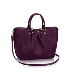 Must. Have. This. Bag. Louis Vuitton Mazarine in Raisin! New for Fall 2016!!