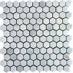 Mosaic Marble Hex Floor - HD