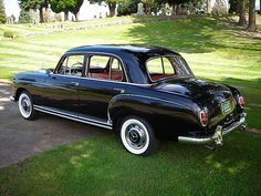 1959 Mercedes 220S by Collector Car Ads, via Flickr