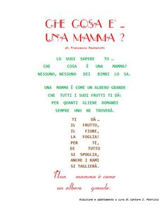 Festa della mamma – Maestra P.I.C. Maila, Primary School, Diy And Crafts, Lettering, Learning, Words, Day, Pucci, Syria