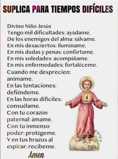 God Prayer, Prayer Quotes, Daily Prayer, Morning Prayer Christian, Catholic Prayers In Spanish, Archangel Prayers, Personal Prayer, Miracle Prayer, Angel Guidance