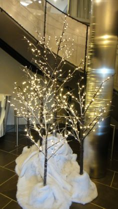 of christmas decorating trends 2012 twig trees decorations holiday ...