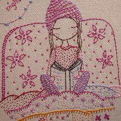 night night hand embroidery pattern pdf von LiliPopo auf Etsy
