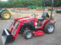 Mahindra Compact Tractors