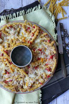 Thunfisch-Nudel-Kranz | Rezept | Kochen | Essen | Pasta