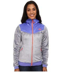 THE NORTH FACE Sale New Women's Oso Fleece Hoodie Jacket Zip Coat Grey Purple S #TheNorthFace #FleeceJacket