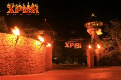 Xplor Fuego - no reservation, shuttle every 20 mins, food included, lockers
