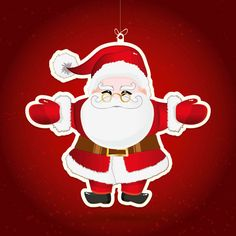 Julekort uden støtte. Motiv: Julemanden, julemand, julepynt, firmajulekort, firma julekort, erhvervsjulekort, julekort til erhverv, julekort med logo, julekort, velgørenhedsjulekort, julekort med tryk