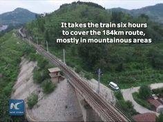 "China's ""slowest"" train goes viral on social media. The disel train, running through 23 stops on a 184 km route, draws attention for its antiquated looks and scenery along the way."