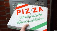 German police deliver pizza after traffic accident
