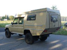 Custom Campers - Toyota HZJ79 DoKa