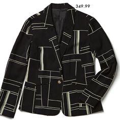 A blazer is the most versatile jacket to own this season. Work Inspiration, Art Work, New Look, Latest Fashion, Suit Jacket, Seasons, Blazer, Shirt Dress, Store