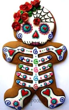 Image result for day of the dead christmas ornaments