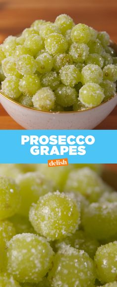 Grapes Your squad's gonna throw back Prosecco Grapes all summer long. Get the recipe from .Your squad's gonna throw back Prosecco Grapes all summer long. Get the recipe from . Grape Recipes, Fruit Recipes, Cooking Recipes, Vodka Recipes, Cooking Fish, Alcohol Recipes, Party Recipes, Light Recipes, Holiday Recipes