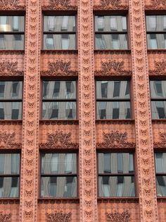 Guaranty Building, Buffalo NY,  Louis Sullivan
