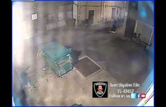 Screen grab of shooting in an alley in downtown, September 28, 2015. (Photo courtesy Windsor police)