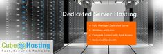Dedicated Web Hosting Plans run on dedicated servers, meaning that they do not share bandwidth space and server space with other sites, which also contribute to a better internet experience for other people who visit your site too.