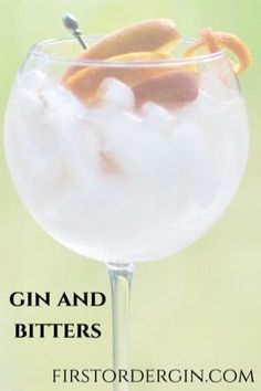 Gin and Bitters Cocktail - a twist on the gin and tonic Gin Cocktail Recipes, Cocktail Bitters, Cocktails, Drinks, Make Your Own Gin, Strawberry Mojito, Exotic Food, Gin And Tonic, Clean Eating Snacks