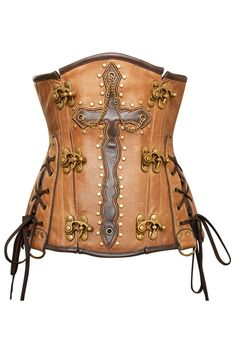 Hester Leather Steampunk Corset CD-1303