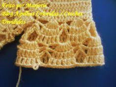 Agulhas Coloridas Croche e Trico: PAP Casaquinho de Croche de BEBE - Feito por Lindinha Crochet Bebe, Crochet Hats, Crochet Projects, Crochet Patterns, Baby, Fashion, Crochet Baby Dresses, Crochet Baby Clothes, Crochet Baby Booties