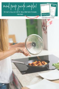 I've got a sample of my meal prep plans and you can get it, for free! Visit mollyfaught.com/aplantoprep to get your copy! #aplantoprep #mealprep #mealplan Best Meal Prep, Meal Prep Guide, Meal Prep Plans, Meal Prep For The Week, Portion Control Diet, Meal Prep For Beginners, Nutrition Plans, Weight Loss Meal Plan, Meal Planning
