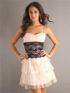 Short Spaghetti Strap Sweetheart Ruched Chiffon Prom Dress PD10457 www.dresseshouse.co.uk £85.0000